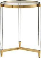 Uttermost Kellen Glass Accent Table