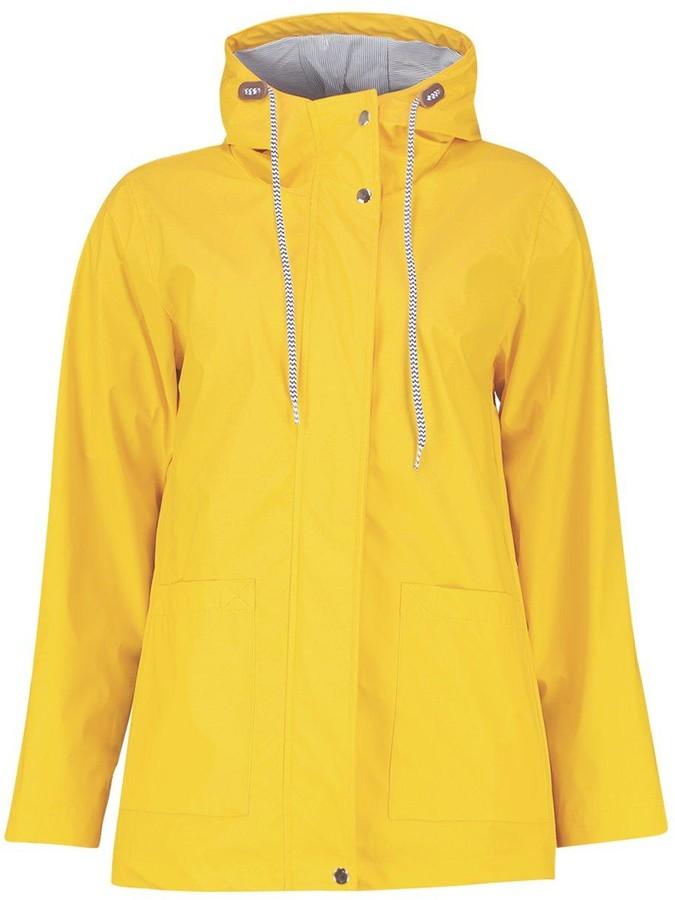 Thumbnail for your product : boohoo Rubberised Rain Mac
