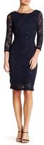 Marina Stretch Sparkle Lace Dress