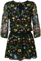 Alice + Olivia Alice+Olivia - floral shift dress - women - Polyester - 6