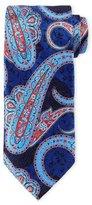 Ermenegildo Zegna Large-Paisley-Print Silk Tie