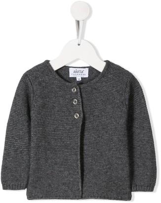 Aletta Textured-Knit Cardigan