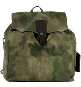 Golden Goose Deluxe Brand Green Fabric Backpack