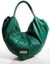 Valentino Green Leather Large Bow Nuage Hobo Handbag