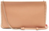 Christian Louboutin Loubiposh spike-trimmed leather clutch