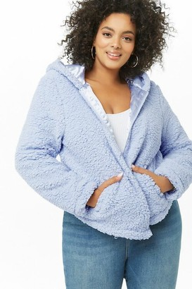 Forever 21 Plus Size Faux Shearling Jacket