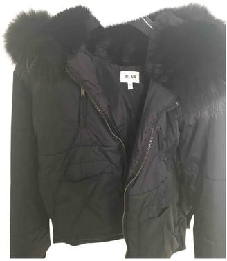 Bel Air Black Raccoon Coat for Women
