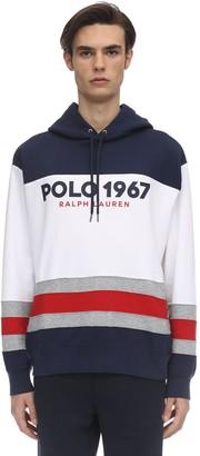 Polo Ralph Lauren Printed Cotton Blend Sweatshirt Hoodie