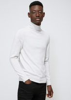 A.P.C. Ecru Chine Dundee Sweater