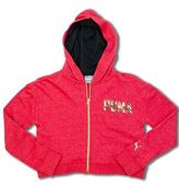 Puma Shimmer Fleece Zip-Up Hoodie (4-6X)