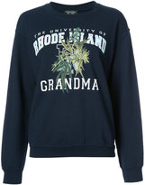 Creatures of the Wind embroidered sweatshirt