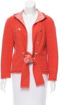 Chanel Fringe-Trimmed Sequin-Embellished Jacket