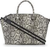 Aldo Casateia snakeskin textured satchel
