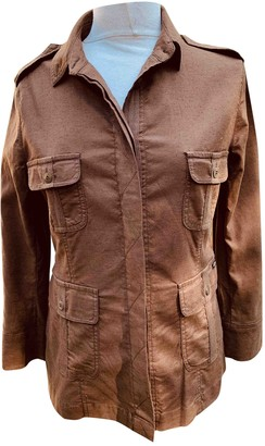 Armor Lux Armor-lux Brown Cotton Jacket for Women