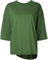 Bassike boxy top - women - Cotton - M