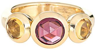 Heritage Tiffany & Co 18K 0.10 Ct. Tw. Diamond Gemstone Ring