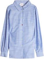 Stella Jean Pinstriped Cotton Shirt