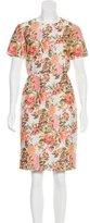 Stella McCartney Brocade Knee-Length Dress