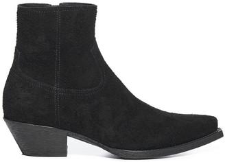 Saint Laurent Lukas Suede Boots