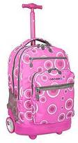 "J World J-World 20"" Sundance Rolling Backpack with Laptop Sleeve - Pink"