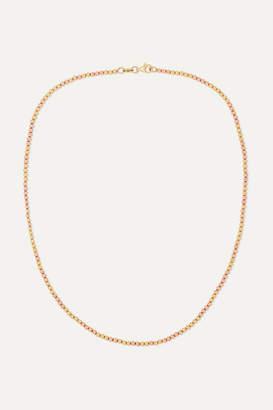 Carolina Bucci Disco Ball 18-karat Yellow And Rose Gold Necklace - one size