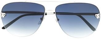 Cartier Tiger aviator sunglasses