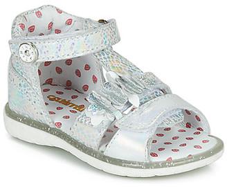 Catimini STEVIA girls's Sandals in Silver