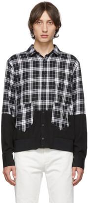 Neil Barrett Black Blouson Shirt