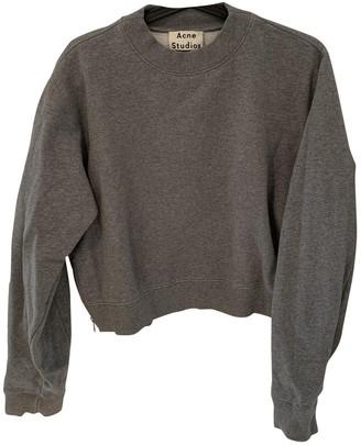 Acne Studios Grey Cotton Knitwear for Women