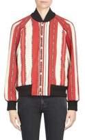 Saint Laurent Wool Striped Jacket