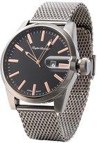English Laundry Men's Watch EL7596BK236-227 Steel, Dial, Mesh Bracelet