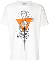 YMC Sketch printed T-shirt