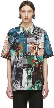 Burberry Multicolor Hyde Printed Shirt
