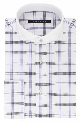 Sean John Men's Dress Shirt Regular Fit Check