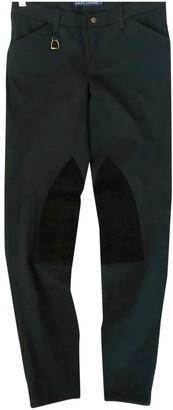 Ralph Lauren Green Cotton Trousers