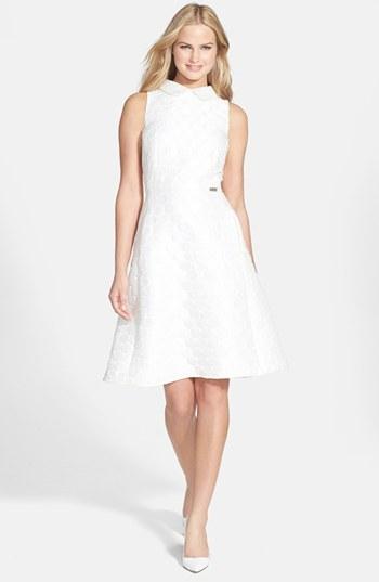 Pink Tartan 'Spot On' Tea Dress