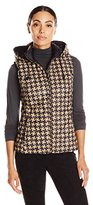 Pendleton Women's Reversible Print Quilted Vest