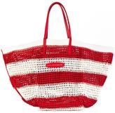Ermanno Scervino striped tote - women - Cotton/Leather/Viscose - One Size