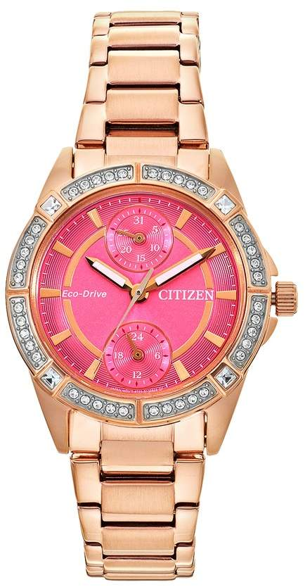 Citizen Drive from Eco-Drive Women's POV Stainless Steel Watch