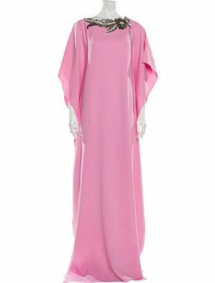 Oscar de la Renta 2020 Long Dress Pink