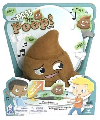 Spin Master Toys Spin Master Games Electronic Pass the Poop Game (Hot Potato Poop Version)