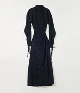 Vivienne Westwood Pourpoint Polo Neck Dress Navy