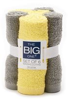 The Big One® Solid 6-pack Washcloths