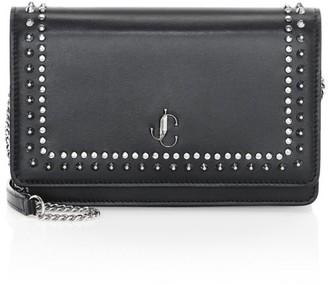 Jimmy Choo Palace Studded Leather Crossbody Bag