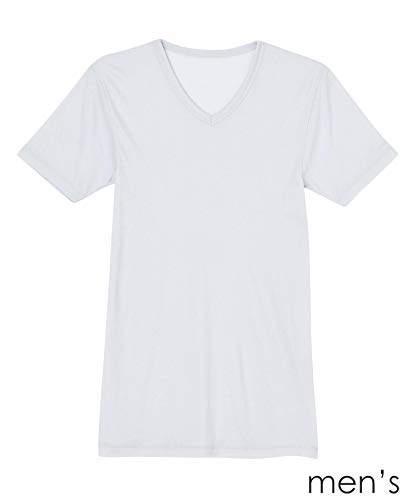 Une Nana Cool (ウン ナナ クール) - [ウンナナクール] インナー 吸湿発熱 無地 半袖シャツ LS8701 メンズ GY 日本 M (日本サイズM相当)