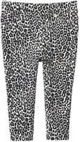 Joe Fresh Baby Girls' Leopard Pant, Cream (Size 18-24)