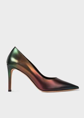 Paul Smith Women's 'Artist Stripe' Gradient 'Annete' Heels