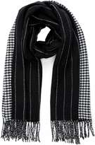 Black Reversible Cold Weather Scarf