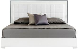 VIG Furniture Modrest San Marino Modern White Bed, Eastern King