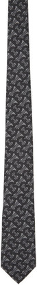 Burberry Grey Monogram Manston Tie